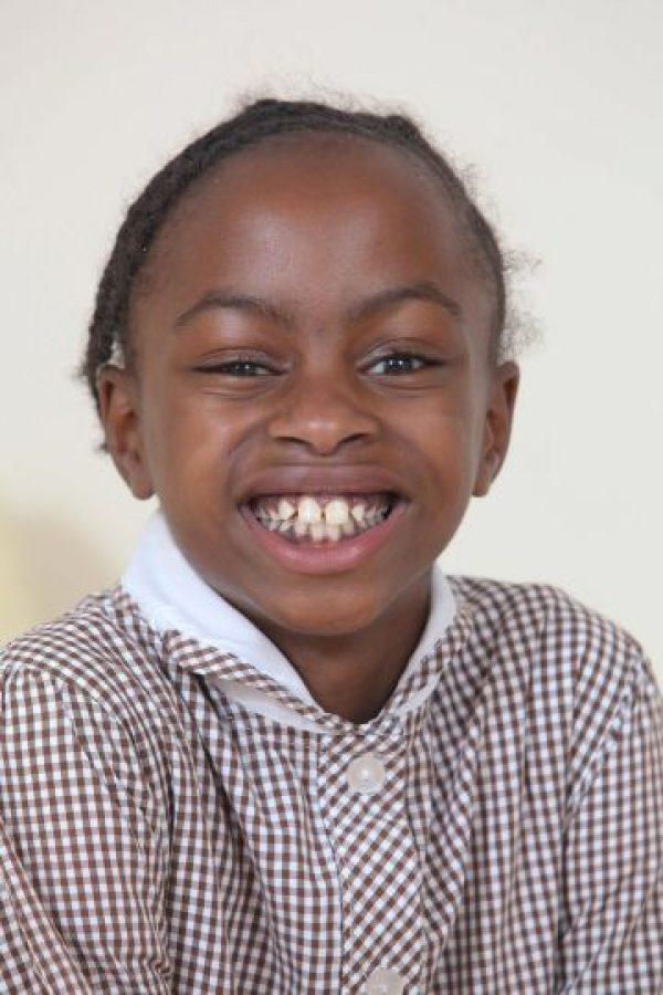 Su madre nunca imaginó verla tan saludable por lo que los médicos le habían mencionado cuando su hija nació. Foto:Grosby Group
