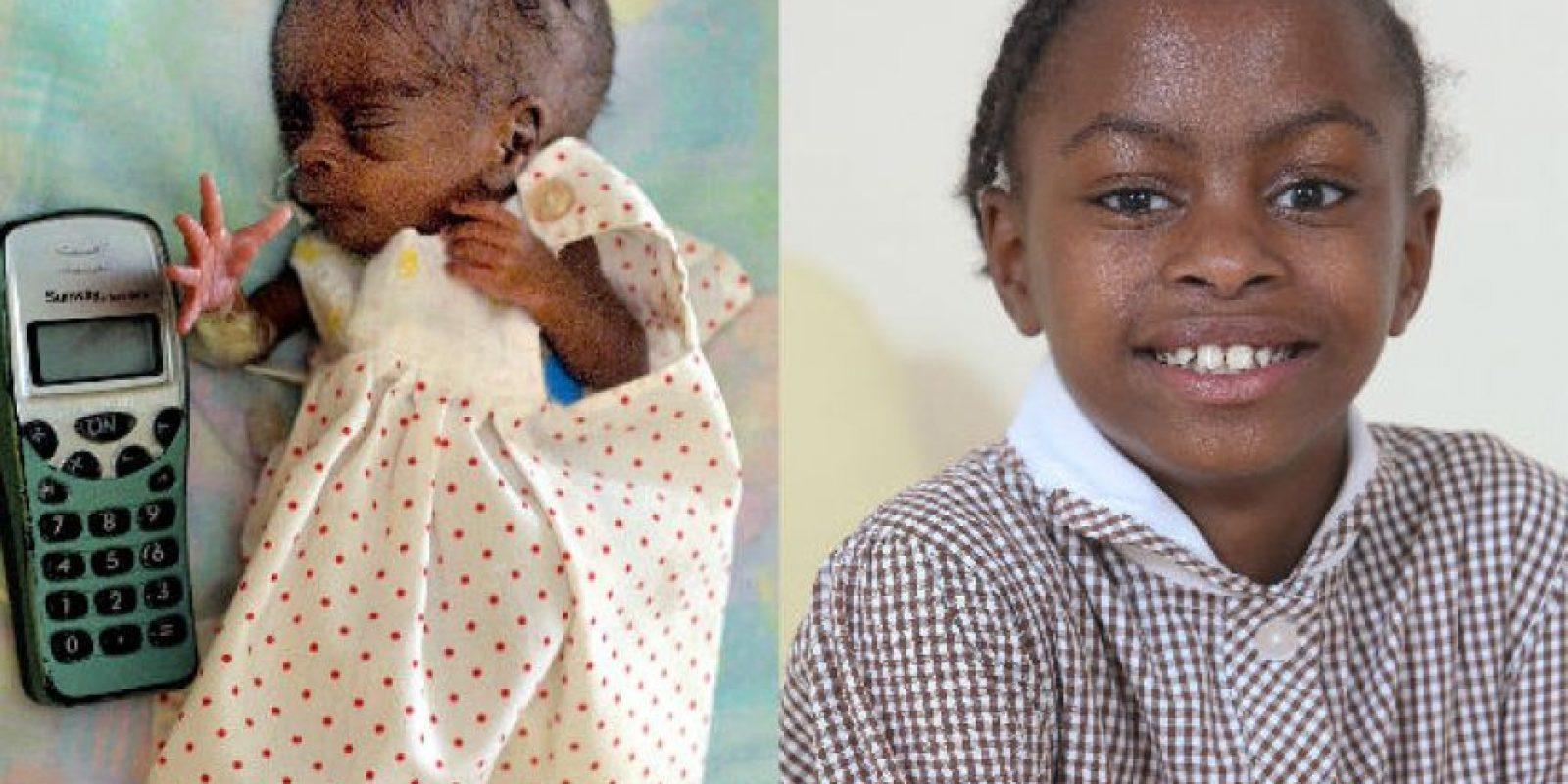 La pequeña de Reino Unido es una niña sana pese al mal pronóstico que le dieron los médicos a su madre. Foto:Grosby Group