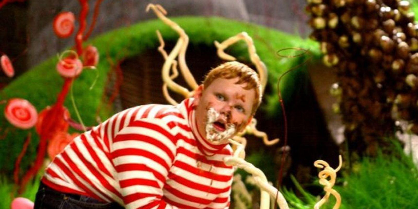 """""""Augustus Gloop"""" Foto:IMDb"""