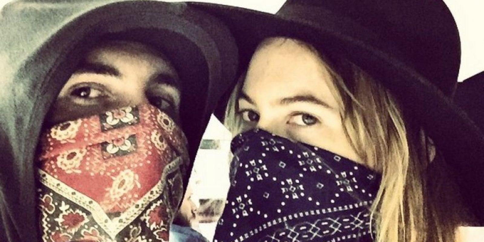 Behati Prinsloo y Adam Levine Foto:Instagram