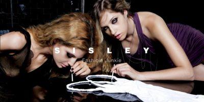 Simulaban la pasión por la moda como la adicción a las drogas. Foto:Sisley