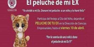 Campaña recolecta peluches de exnovios para regalarlos a niños sin hogar