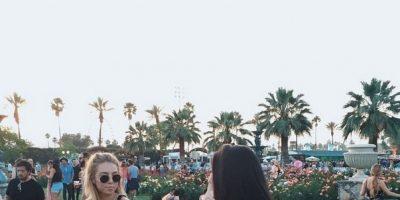 La hija de Paul Walker se divierte en Coachella