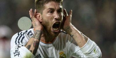 El gol de cabeza de Ramos forzó al tiempo extra en la final de la Champions ante el Atlético de Madrid. Foto:AFP