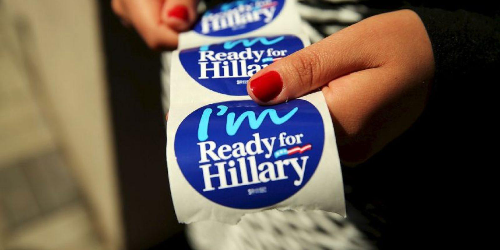 Si es elegida como presidenta sería la primer en gobernar en Estados Unidos Foto:AFP