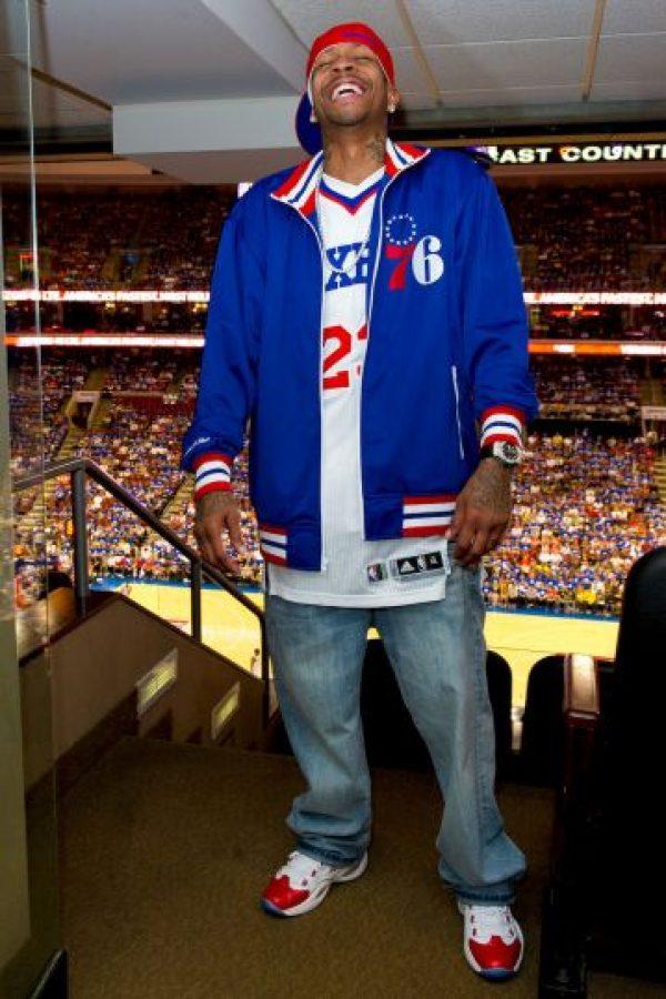 Fue estrella de los 76ers de Philadelphia Foto:Getty Images