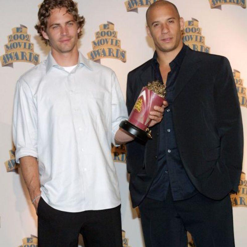 Paul Walker era el mejor amigo para Vin Diesel Foto:Getty Images