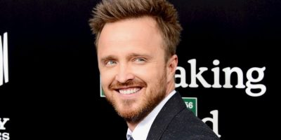 "Aaron Paul, actor en la famosa serie de ""Breaking Bad"", ya usa y transmite en vivo desde Periscope. Foto: Getty Images"