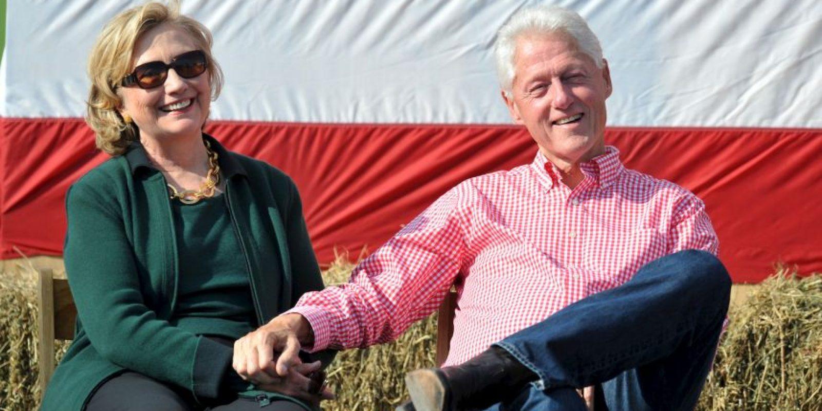 Clinton conoció a su marido Bill Clinton en 1971 Foto:Getty Images