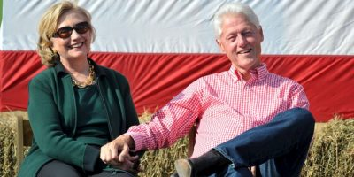 Clinton conoció a su marido Bill Clinton en 1971 Foto: Getty Images