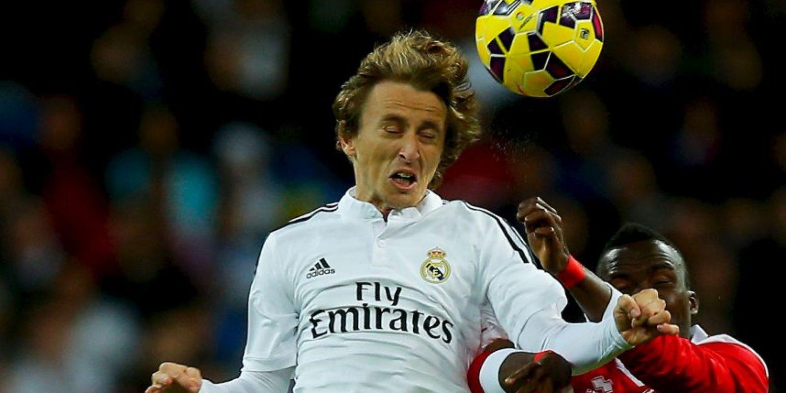 James jugaría al lado de sus compañero Luka Modric (55 millones) Foto:Getty Images