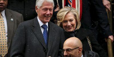 Su esposo Bill Clinton Foto:Getty Images