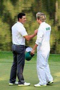 """Ambos personajes realizaron un trato, Horan sería su """"caddie"""" y el golfista actuaría junto a One Direction Foto:Getty Images"""