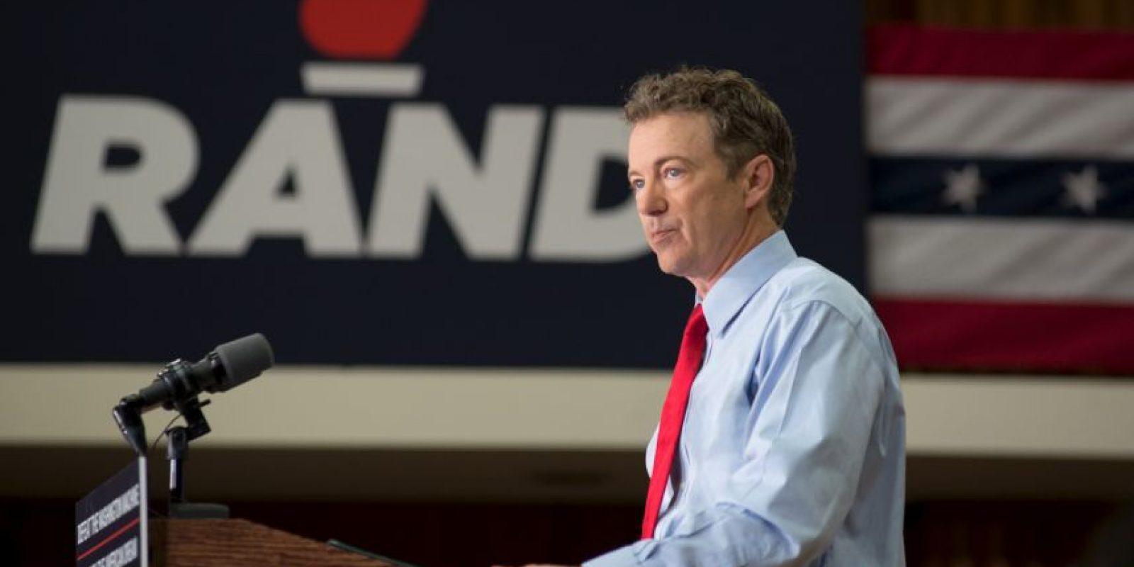 Actualmente se desempeña como senador por el estado de Kentucky. Fue el segundo republicano en anunciar su candidatura Foto:Getty Images