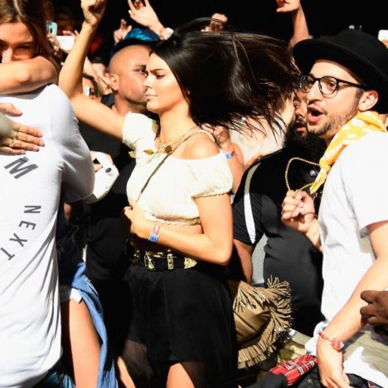 Durante el Festival de Coachella, Kendall Jenner pasó un momento incómodo. Foto:Getty Images