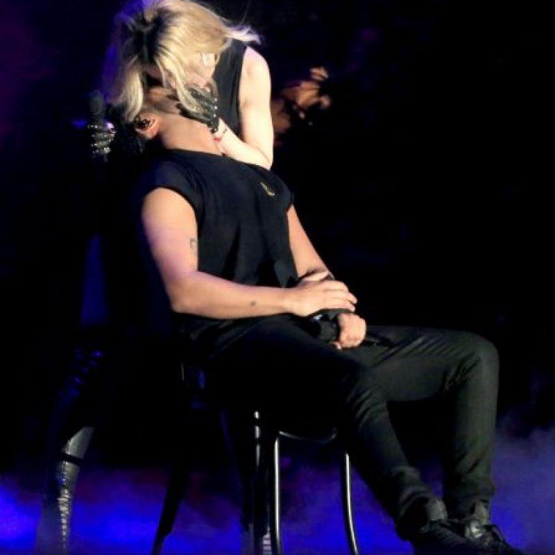"""Y es que la reacción del rapero fue de """"asco"""" Foto:Getty Images"""