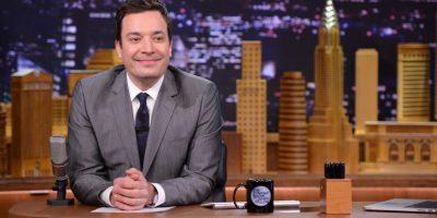 Igual que Jimmy Fallon, comediante de gran popularidad en Estados Unidos. Foto:Getty Images