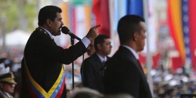 Al morir Chávez el 5 de marzo de 2013, Maduro asumió 3 días después la jefatura de Estado y de Gobierno. Foto:Getty Images