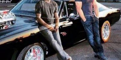 "Emotiva foto de Vin Diesel junto al ""fantasma"" de Paul Walker"