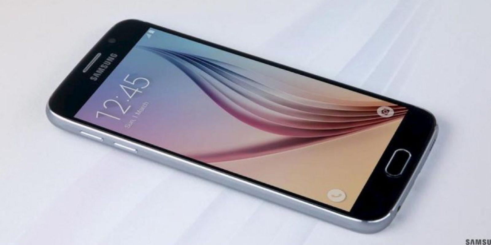 Samsung Galaxy S6 en una prueba de resistencia. Foto:twitter.com/SamsungMobile