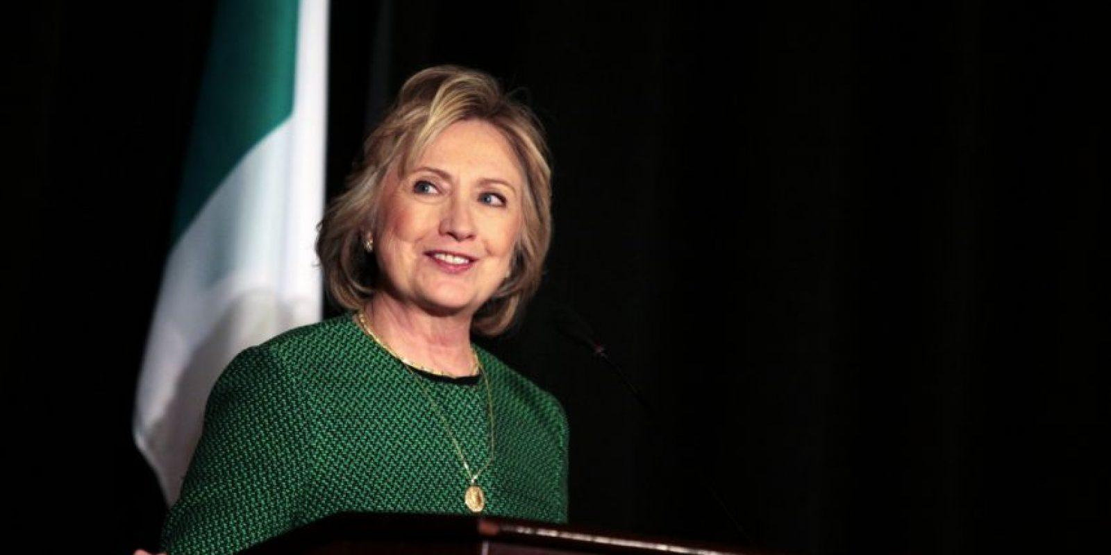 Su máxima aspiración: ser la primera mujer presidenta de Estados Unidos Foto:Getty Images