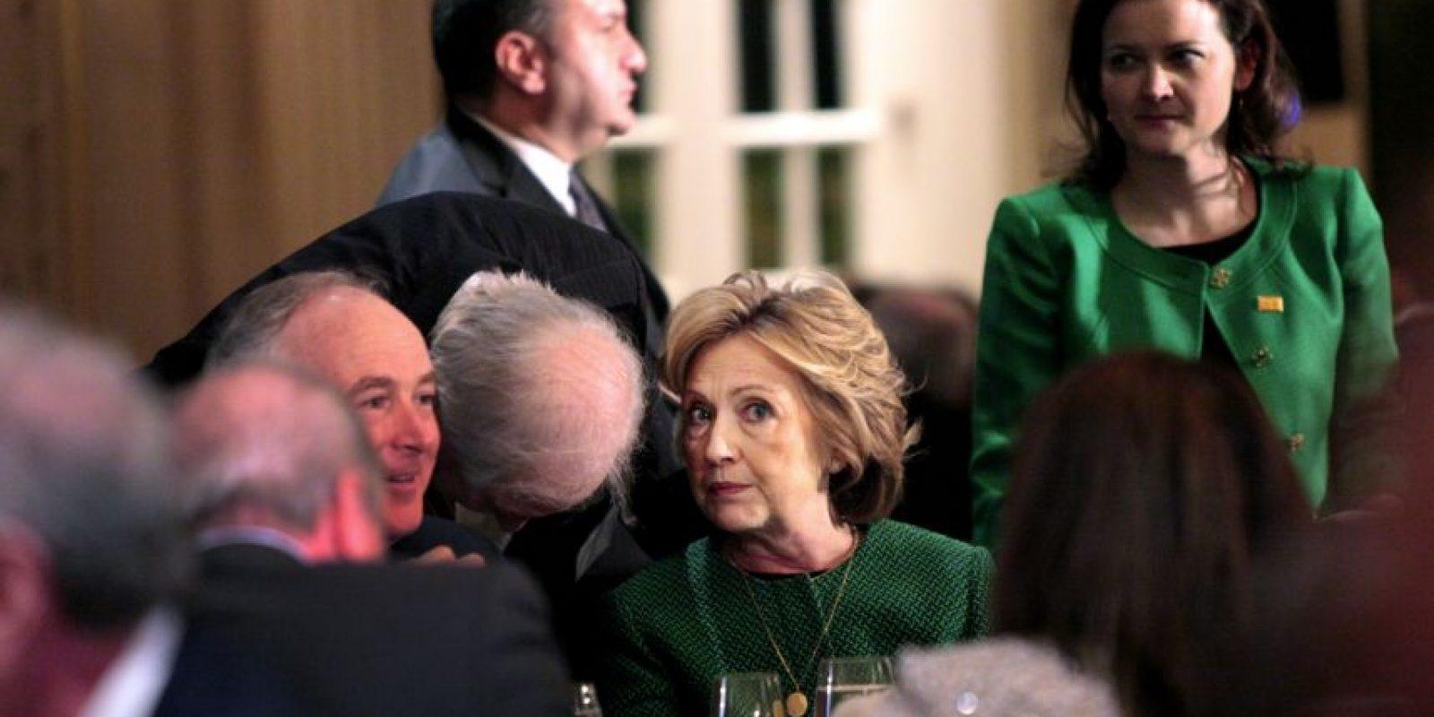 Al dejar su esposo la Casa Blanca, continuó con su carrera política. Foto:Getty Images