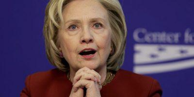 Hillary Clinton quiere volver a la Casa Blanca. Foto:Getty Images