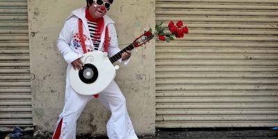 GALERÍA. Las mejores fotos del desfile de payasos en el Paseo de la Sexta