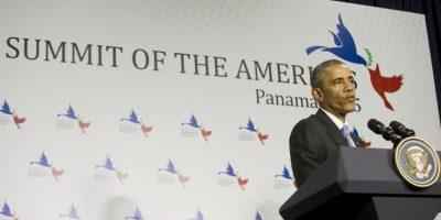 """Durante el II Foro empresarial de la Cumbre, organizado por el Banco Interamericano de Desarrollo, Obama puntualizó que desde su mandato, de 2009 al presente el intercambio comercial con América Latina a aumentado en un 50 %, reseñó el periódico español """"El País"""". Foto:AP"""