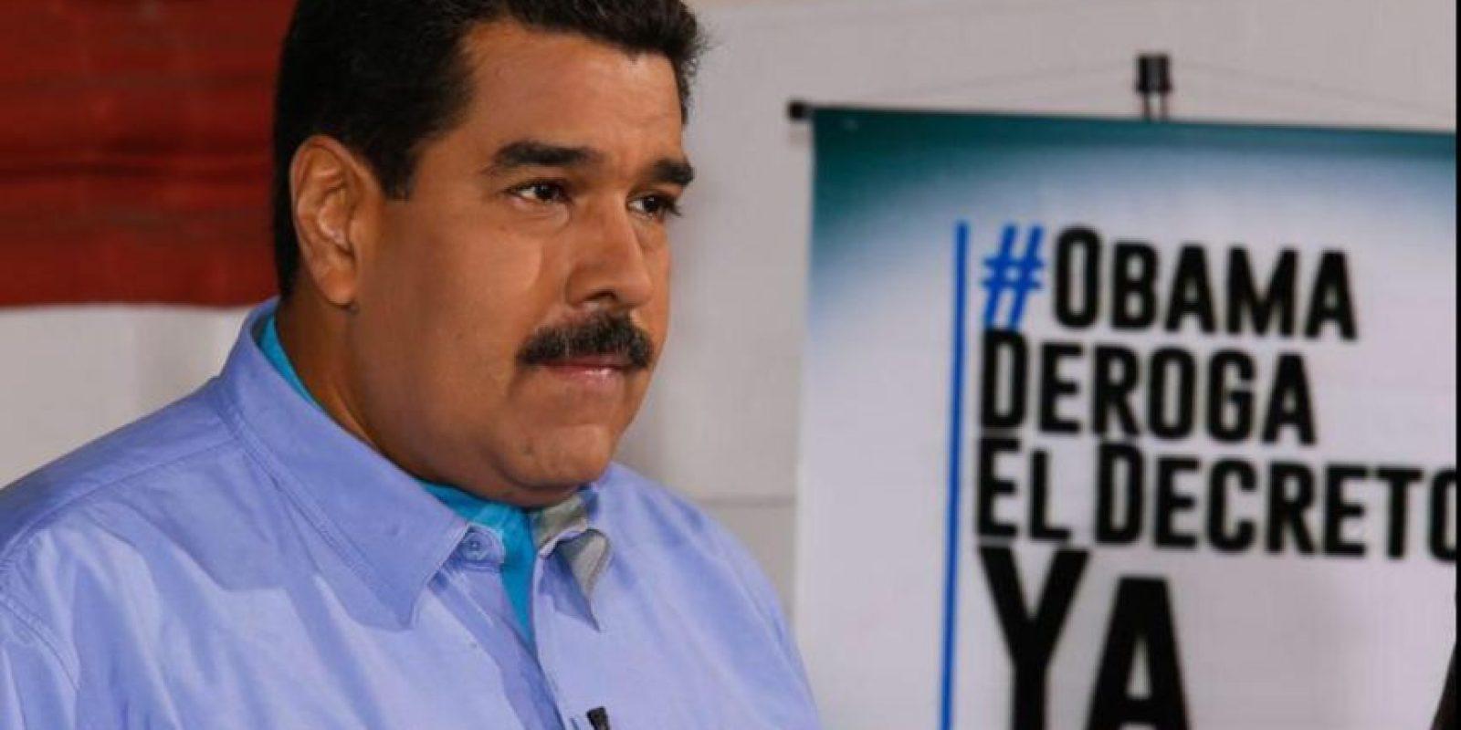 Maduro quiere que deroguen el decreo impueto por Estados Unidos Foto:Vía Twitter @NicolasMaduro