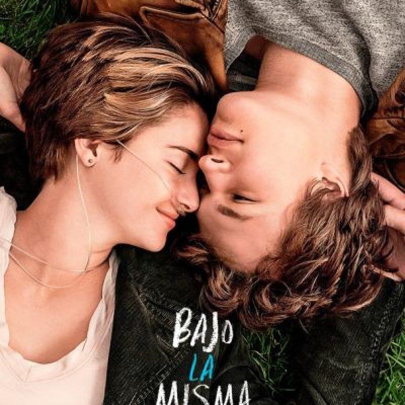 """Película del año: """"Bajo la misma estrella"""" Foto:Pinterest"""