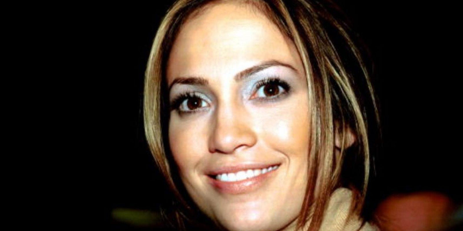 Y la que antes se maquillaba así… Foto:vía Getty Images