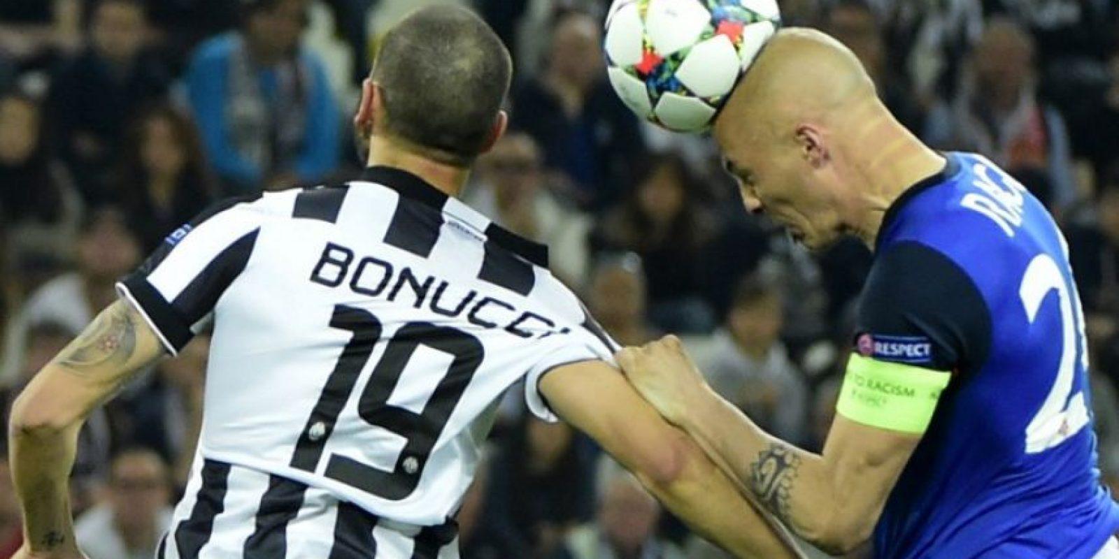 El cuadro italiano se lleva una ventaja mínima para el partido de vuelta que se jugará en Mónaco. Foto:AFP
