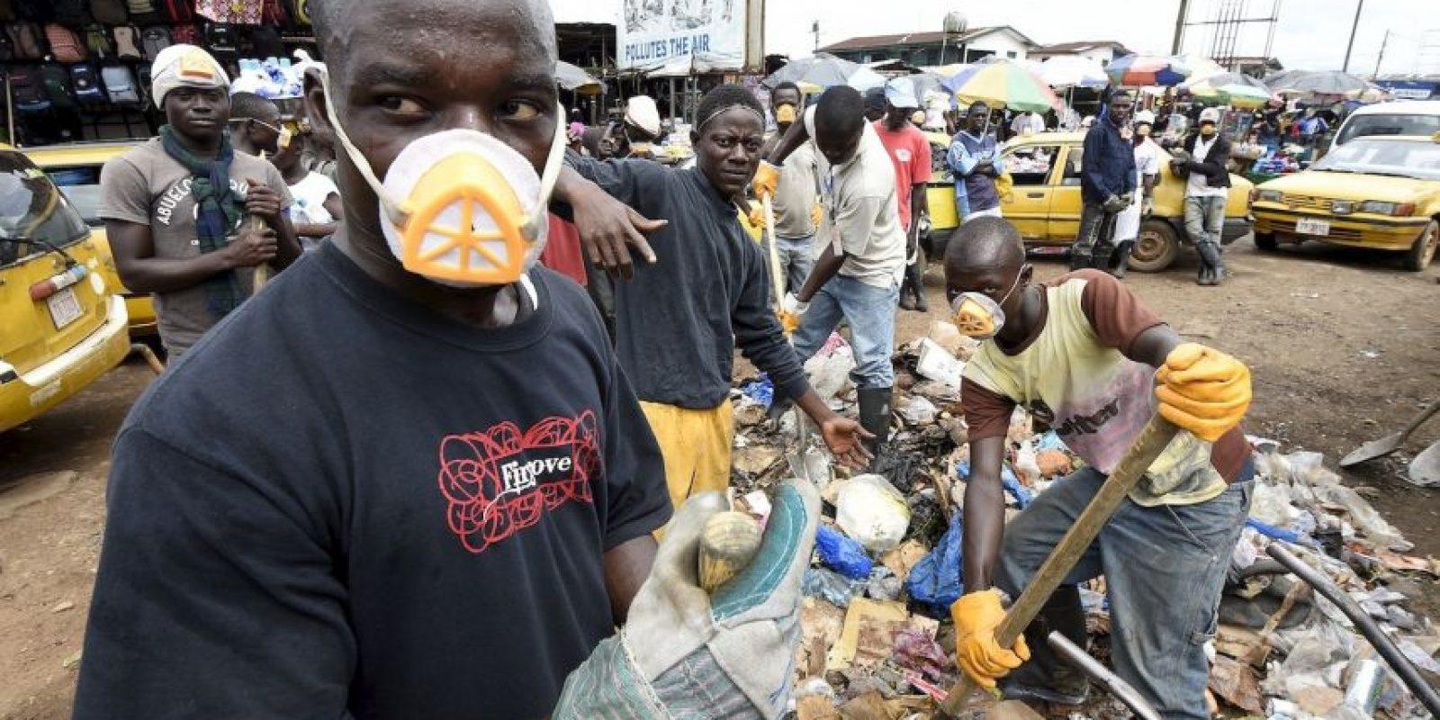 9. Los países de África Occidental que más se vieron afectados por el Ébola fueron Sierra Leona, Guinea y Liberia. Foto:AFP