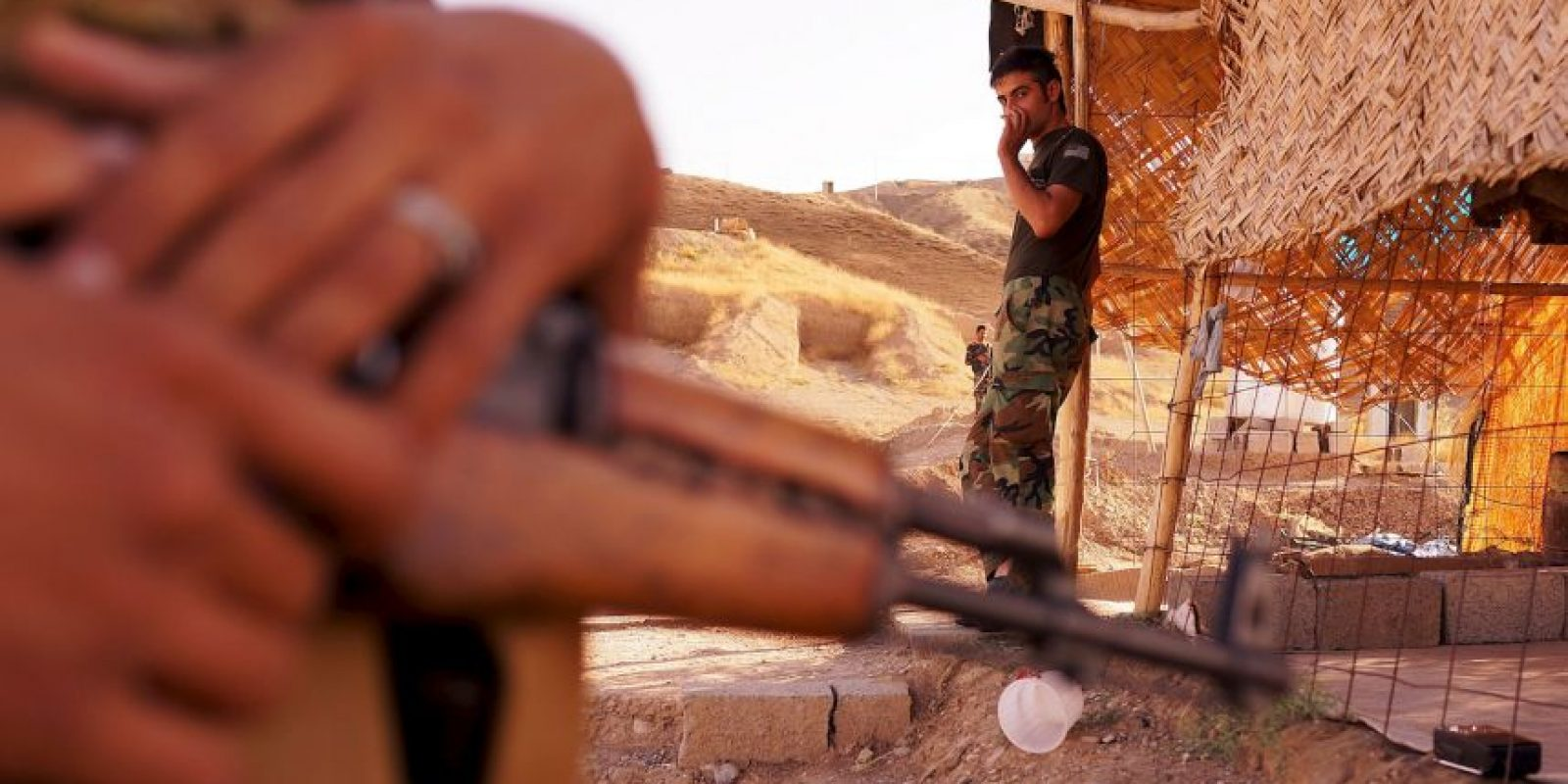 Está asentado en un amplio territorio de Irak y Siria controlado por radicales fieles a Abu Bakr al-Baghdadi. Foto:Getty Images