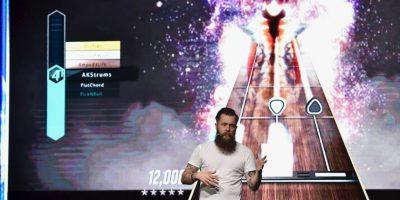 Jamie Jackson, director creativo de FreestyleGames, fue el encargado de presentar las primeras imágenes del videojuego. Foto:Getty Images
