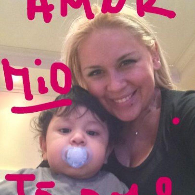 Diego Fernando Maradona nació en febrero de 2013. Foto:Vía twitter.com/veruojeda25