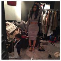Sus momentos en familia Foto:Vía Instagram.com/kimkardashian