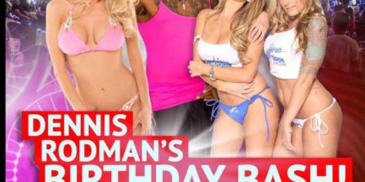 3 actrices de cine para adultos amenizarán la fiesta de Dennis Rodman