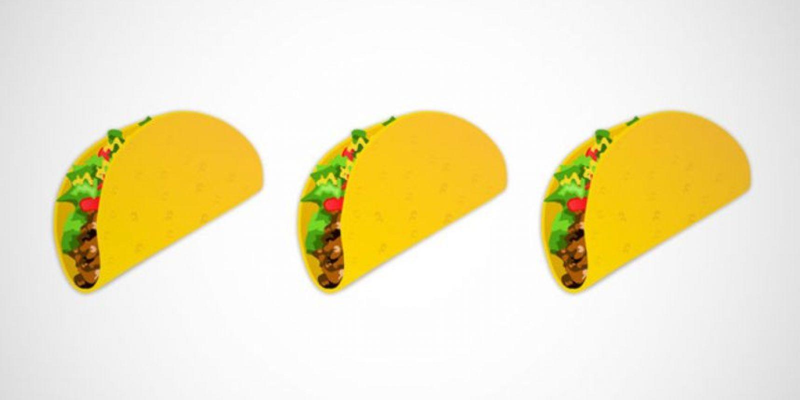 Taco – Uno de los platillos más emblemáticos de México. Foto:Twitter