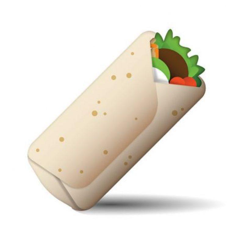 Burrito – Comida con una base de tortilla de harina y rellena con carne asada y frijoles. Foto:Twitter