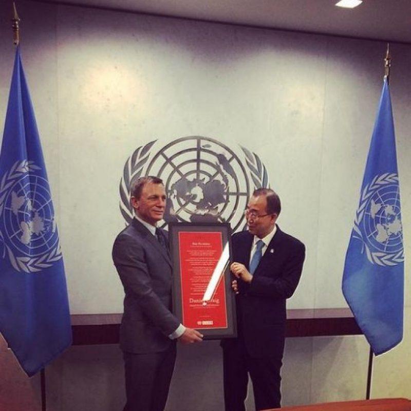Es nombrado promotor Global Naciones Unidas Foto:Twitter/UN