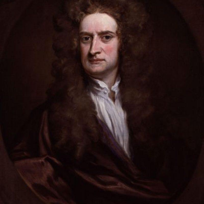 """Isaac Newton. Su obra """"Principia Mathematica"""" le da el crédito como el invertor del cálculo, aunque Wilhelm Leibniz contribuyó en la topología y la creación de la notación estándar moderna. Foto:Wikimedia"""