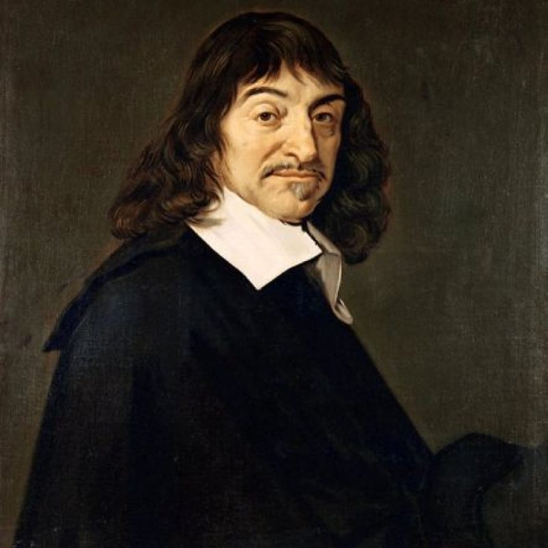 René Descartes. Desarrolló la geometría cartesiana y su uso del álgebra. Foto:Wikimedia