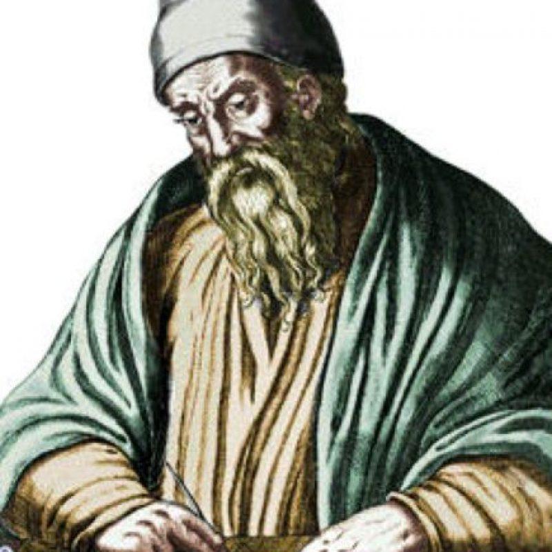 Euclídes. Es considerado como el padre de la geometría, la cual está basada en sus cálculos. Foto:Wikimedia