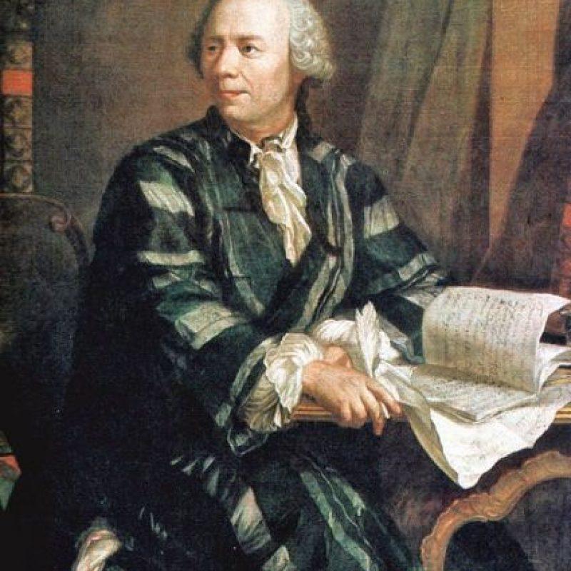 Leonhard Euler. Introdujo la notación matemática y el concepto de función, además de que pudo resolver el problema de los Siete Puentes de Koenigsberg. Foto:Wikimedia