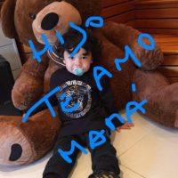 """Maradona no estuvo presente durante el parto, pero de acuerdo con abogados de Ojeda """"siempre estuvo al tanto de la salud de la mamá y el bebito"""". Foto:Vía twitter.com/veruojeda25"""