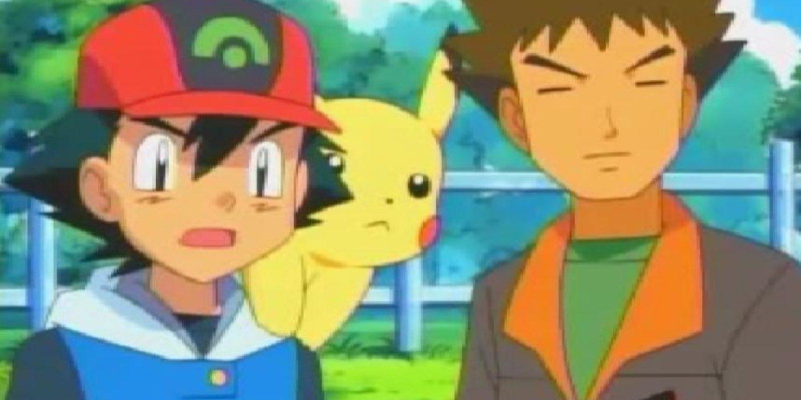 Si alguien alguna vez vio esto…¿llegó a pensar que Ash y Brock eran gays? Foto:vía 4Kids Entertainment