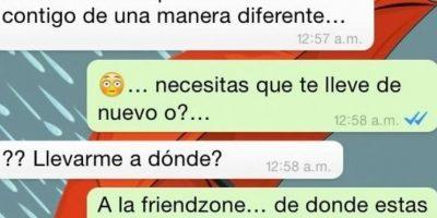 En la red pululan los casos de friendzone. Foto:VistoEnLasRedes