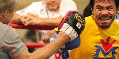 En la producción se mezclan varias imágenes de la vida del boxeador. Foto:Vía facebook.com/MannyPacquiao